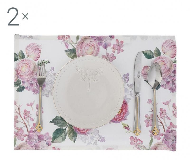 Set 2 individualuri Summer Flowers 33x45 cm