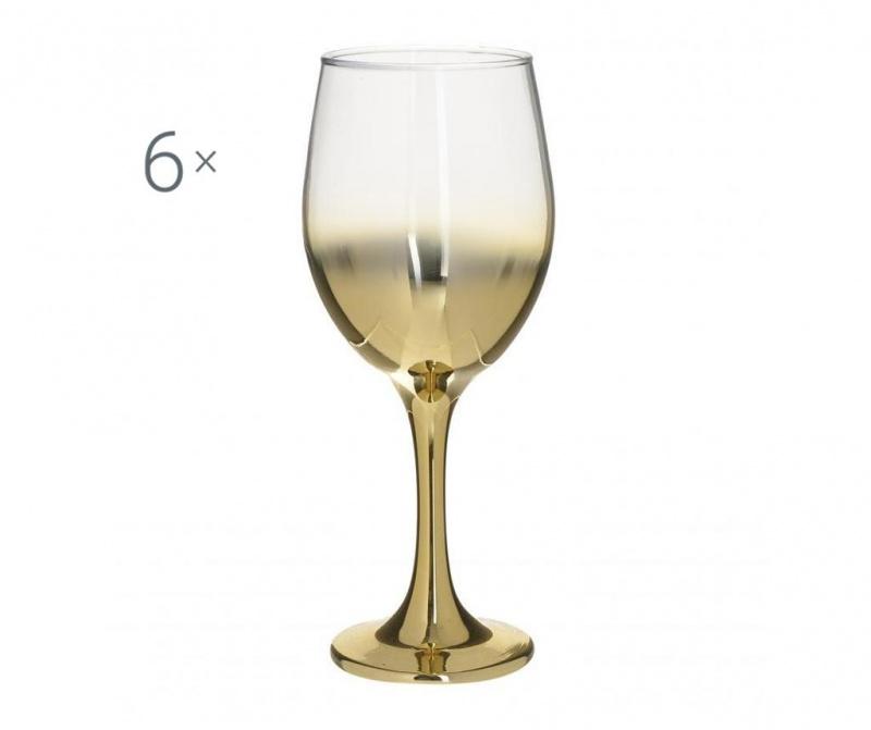 Set 6 kozarcev za vino Marietta