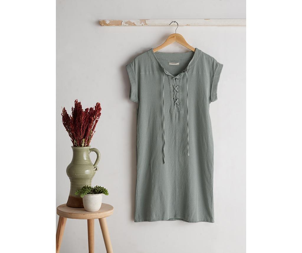 Domácí šaty Naturel Green one size