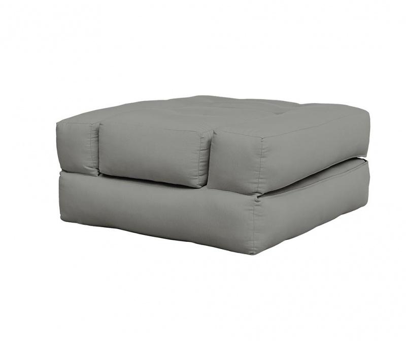 Raztegljiv fotelj Cube  Grey