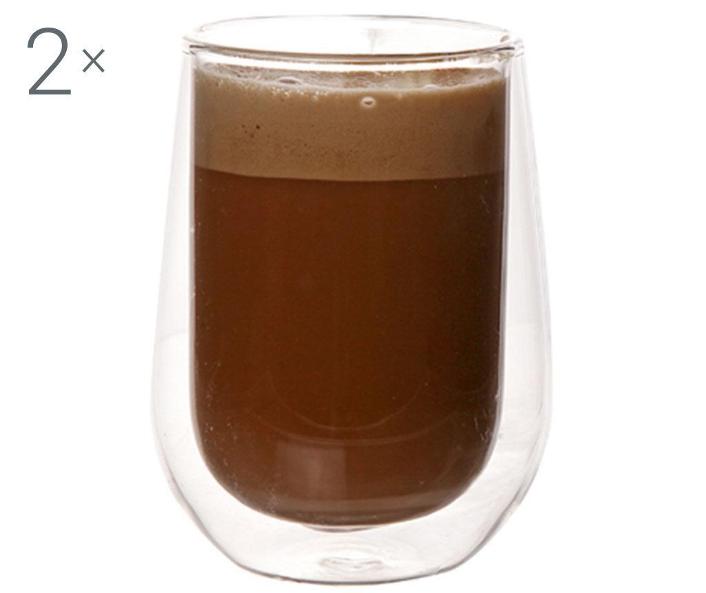 Set 2 pahare Double Safe 200 ml