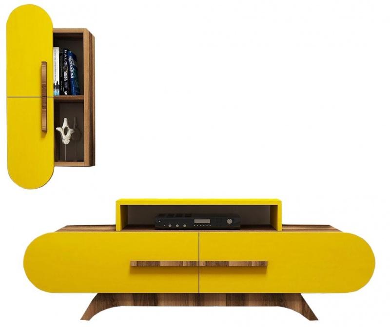 Set comoda TV si cabinet Gail