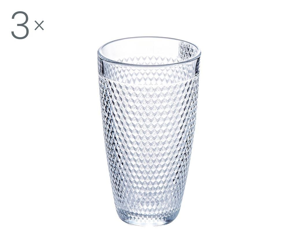Set 3 čaša za vodu Oeil 350 ml