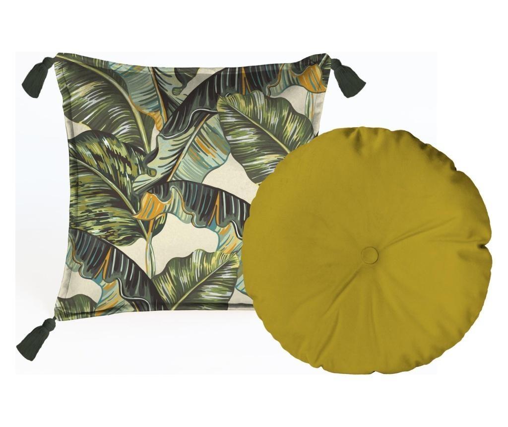Set 2 perne decorative Musa